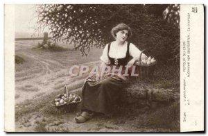 Old Postcard Salon Bellanger Back clos