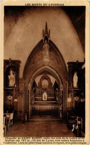 CPA Chapelle de Saint Bonnet, entre le cols de la Luére (573159)