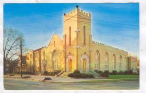 Central Baptist  Church, Pickney at Lloyd Streets,Greenville , South Carolina...