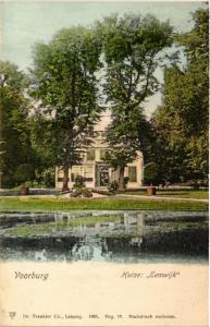 CPA VOORBURG Huize Eemwijk NETHERLANDS (602173)
