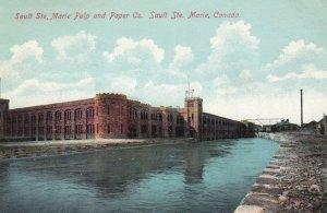 SAULT STE. MARIE , Ontario , Canada , 00-10s ; Pulp & Paper Company