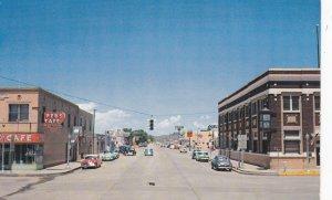 CLAYTON, New Mexico, 1940-50s; Main Street