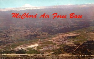 Washington Aerial View McChord Air Force Base