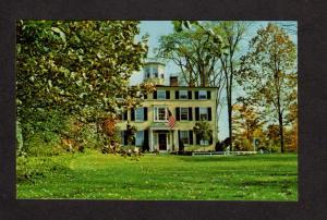 ME Captain Lord Mansion House Kennebunkport Maine Postcard Inn Near Kennebunk