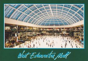 Ice Skating rink , West Edmonton Mall , Edmonton , Alberta , Canada , 50-70s