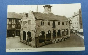 Vintage Postcard The Market House Ross-On-Wye Herefordshire  F1C