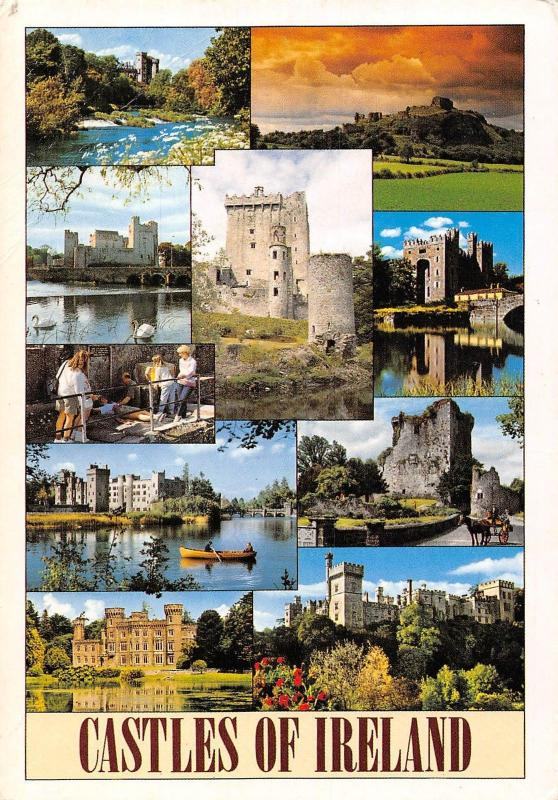 Ireland multiviews Casstles of Ireland Schloss Chateau
