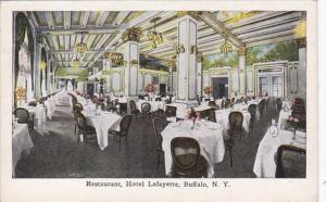New York Buffalo Hotel Lafayette The Restaurant