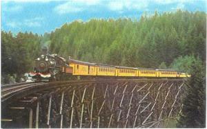 Vernonia South Park & Sunset Steam Railroad, Banks to Veronia Oregon, OR