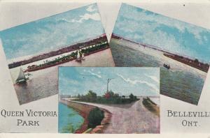 BELLEVILLE , Ontario , 1900-10s ; Queen Victoria Park