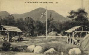Mt. Katahdin Camp Baxter ME Unused