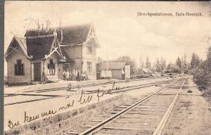 Dals-Rostock Train Station 1922