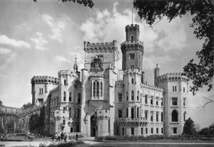Czech Republic Hluboka nad Vltavou Castle Schloss Le chateau