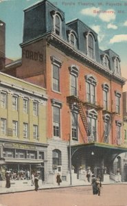 BALTIMORE, Maryland, 1900-1910s ; Ford's Theater