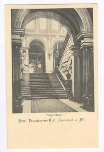 Treppenhaus Hotel Frankfurter=hof, Frankfurt a. M., Germany, 1890s