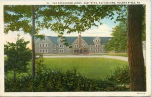 PA - Pocono Pines. The Pocohanne Lodge, East Wing, Lutherland