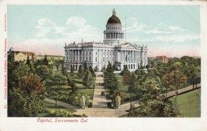 SACRAMENTO, California, 1901-07; Capitol