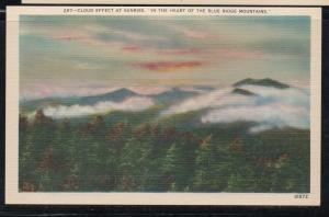 Linen colour PC Cloud Effect at Sunrise in the  Blue Ridge Mountains unused