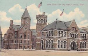 Post Office And City Hall Lansing Michigan