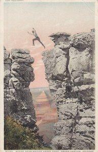 GRAND CANYON, Arizona, PU-1921; Scene Near Bright Angel Cove