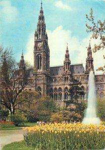 Austria vienna the town hall hotel Postcard