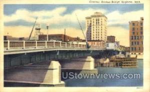 Genesee Avenue Bridge Saginaw MI Unused