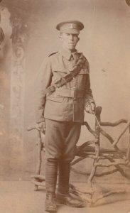 RP: UK Soldier , War 1914-18
