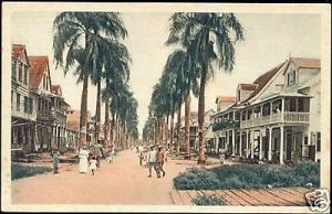 suriname, PARAMARIBO, Maagdenstraat (1930s) Mission