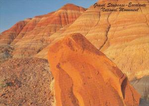 Utah Kanab Grand Staircase Escalante National Monument Remnants Of Painted De...