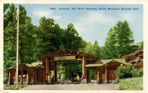 CO - Rocky Mountain National Park. Gateway, Fall River Entrance