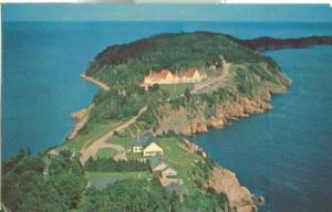 Canada, Aerial view of Keltic Lodge, Cape Breton Highland...