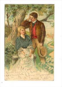 Romance couple, PU-1906