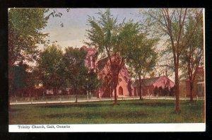 dc508 - GALT Ontario c1906-08 Trinity Church. Kitchener. Postcard