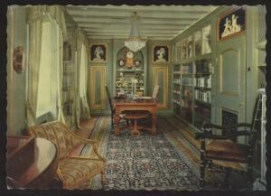Selma Lagerlof Home Library Marbacka Work Room Interior Postcard
