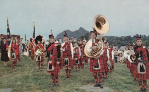 GRANDFATHER MOUNTAIN, North Carolina, 50-60s Highland Gathering Of Scottish Clan