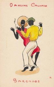 Dancing Calypio , BARBADOS , 1940-50s