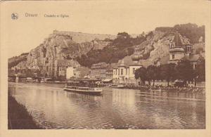 Belgium Dinant Citadelle et Eglise