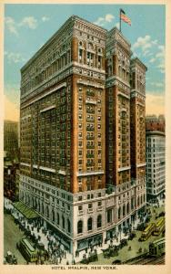 NY - New York City. Hotel McAlpin
