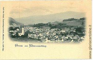 00401 Ansichtskarte PORTCARD AUSTRIA OSTERREICH: Mürzzuschlag