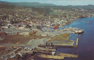 Air view , NANAIMO , B.C., Canada , 50-60s