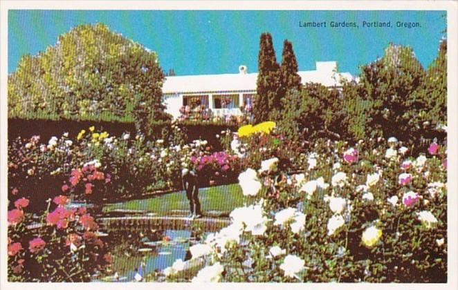 Oregon Portland Upper Rose Garden Lambert Gardens
