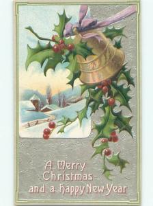 Divided-Back CHRISTMAS SCENE Great Postcard W9966