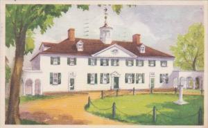 Virginia Mount Vernon West Front 1947