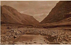SCOTLAND~THE PASS OF GLENCOE~JUDGES PHOTO POSTCARD