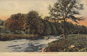 Shuttleville Massachusetts Quinebaug Waterfront View Antique Postcard K87781