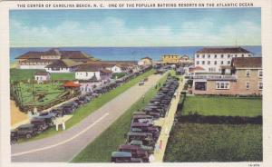 Classic Cars, Bathing Resort of Atlantic Ocean, Carolina Beach, North Carolin...