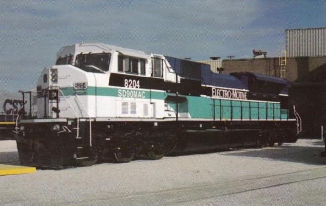 Union Pacific Railroad Prototype SD90MAC Locomotive #8204
