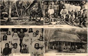 GILBERT ISLANDS ILES GILBERT OCEANIA 15 CPA Vintage Postcards (L3526)