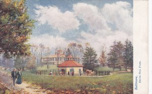 BALTIMORE, Maryland, 1900-1910's; Druid Hill Park