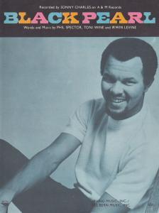 Black Pearl Sonny Charles 1960s Sheet Music